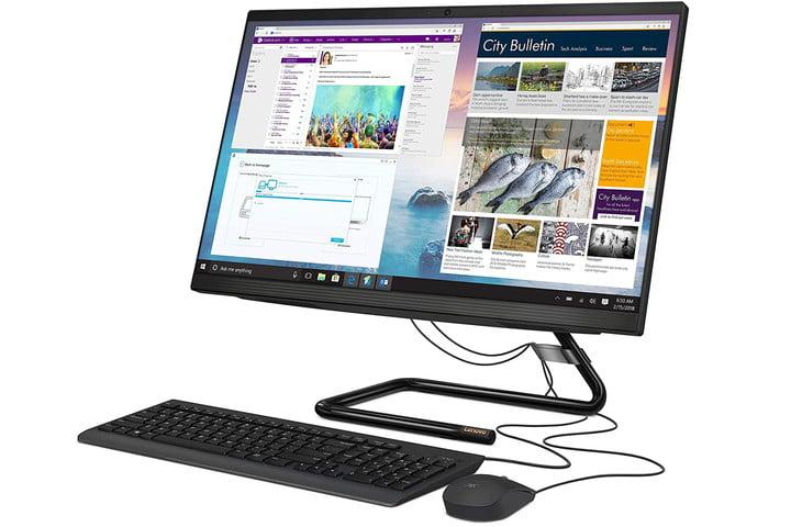 Lenovo IdeaCentre All-in-One 24-Inch Desktop PC