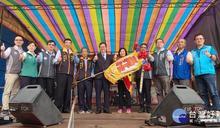桃園三界爺文化祭令旗交接儀式 八德接續傳承客庄文化