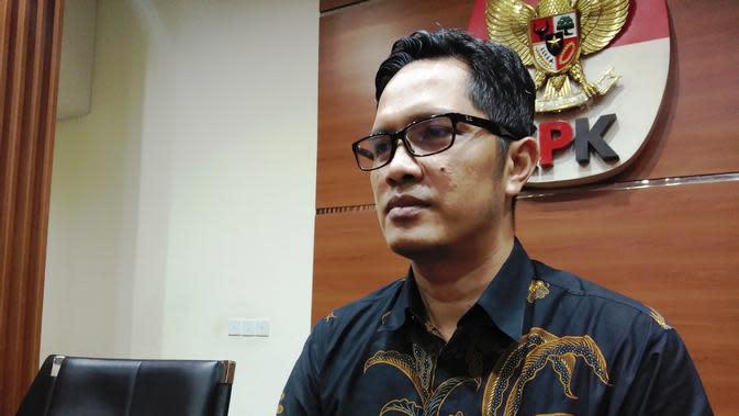 Juru Bicara KPK , Febri Diansyah. (Merdeka.com/Yunita Amalia)