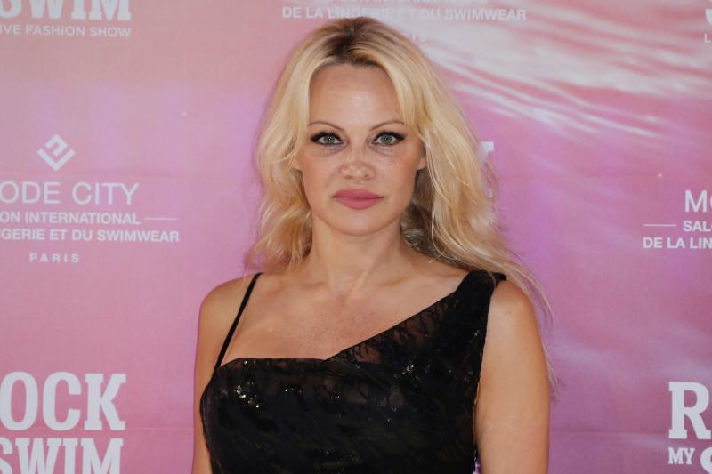Pamela Anderson posted a sexy new photo to her Instagram, just one day after announcing the end of her marriage. (Photo: THOMAS SAMSON/AFP via Getty Images)
