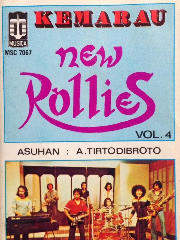 Sampul album Kemarau dari New Rollies. (Foto: Indolawas.blogspot)