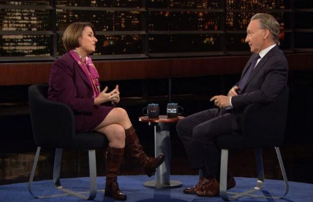 Amy Klobuchar Tells Bill Maher How She'd Handle It if Trump Loses the Election but Refuses to Leave Office