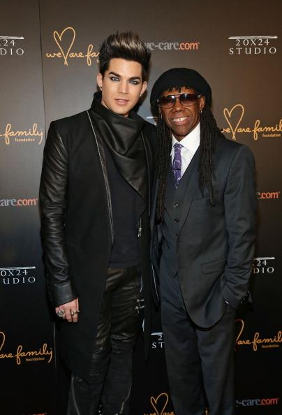 """Adam Lambert, Nile Rodgers & Sam Sparro Join Forces For """"Shady"""" Show"""