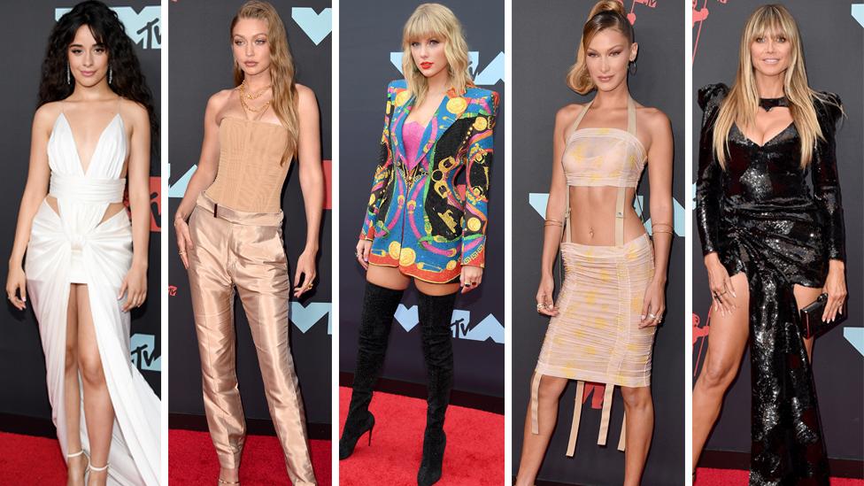 Die größten Stars der Musikszene hatten sich für den roten Teppich bei den MTV Video Music Awards 2019 ganz besonders herausgeputzt. Foto: Getty