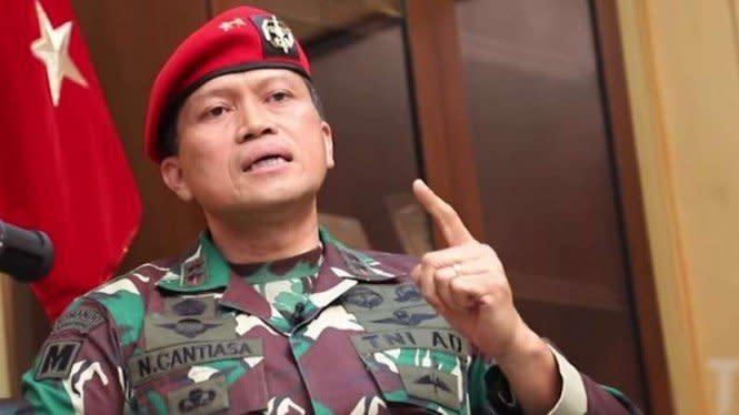 Komandan Jenderal Kopassus Dimutasi Panglima TNI ke Papua