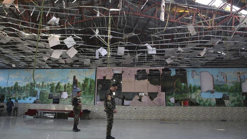 Afghanistan Wedding Hall Blast