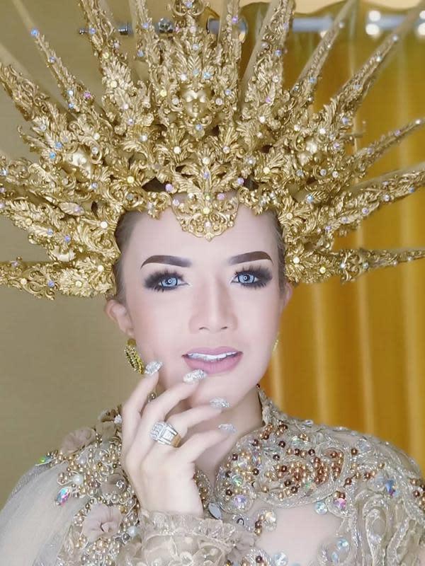 Makeup natural Barbie Kumalasari saat jadi model prewedding, banjir pujian. (Sumber: Instagram/@barbiekumalasari)