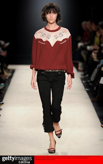 Isabel Marant - Runway RTW - Fall 2012 - Paris Fashion Week
