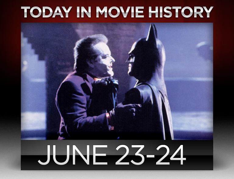 Today in movie history, June 24, June 23