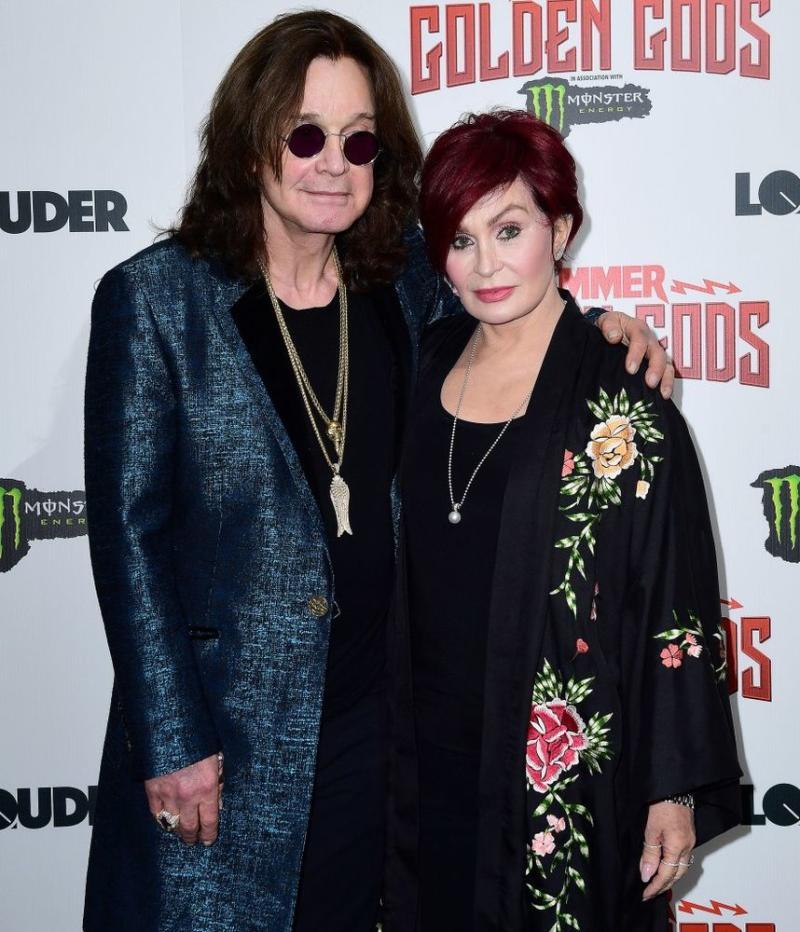 Ozzy and Sharon Osbourne | Ian West/PA Images via Getty