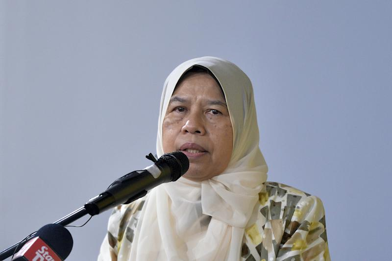 KR vice-president Zuraida Kamaruddin today said there is high racial and religious tolerance in Sarawak because political parties in the state refrain from using race and religion to attract influence and support. — Picture by Mukhriz Hazim