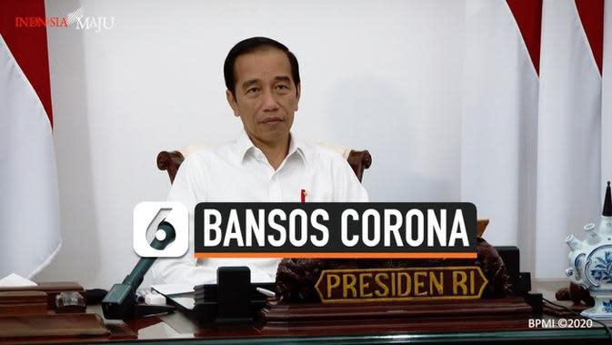 VIDEO: Jokowi Sebut Bansos Terkendala Prosedur Berbelit-belit