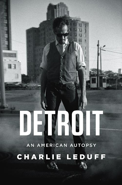 "This book cover image released by The Penguin Press shows, ""Detroit: An American Autopsy,"" by Charlie Leduff. (AP Photo/The Penguin Press)"