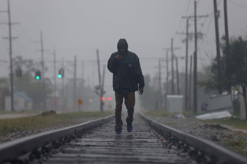 Hurricane Delta weakens after churning into storm-battered Louisiana