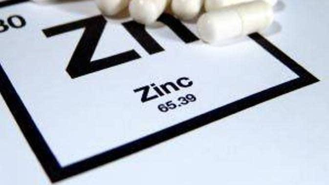 Zinc. (Via: power-beauty.com)
