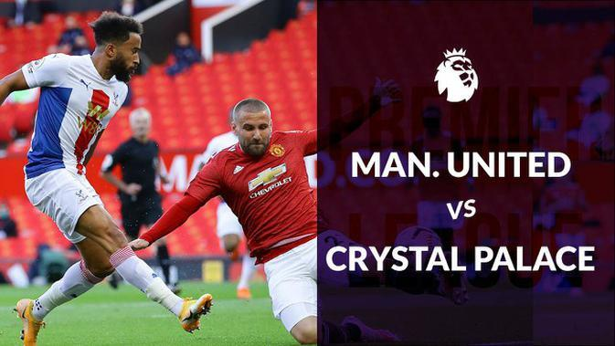 MOTION GRAFIS: Statistik Liga Inggris, Manchester United Takluk dari Crystal Palace 1-3