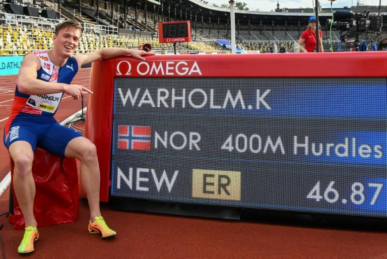 Warholm edges closer to 400m hurdles world record after camping in Stockholm