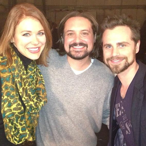 """Girl Meets World"" Maitland Ward, Will Friedle and Rider Strong"