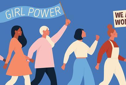 國際婦女節 女性力量抬頭
