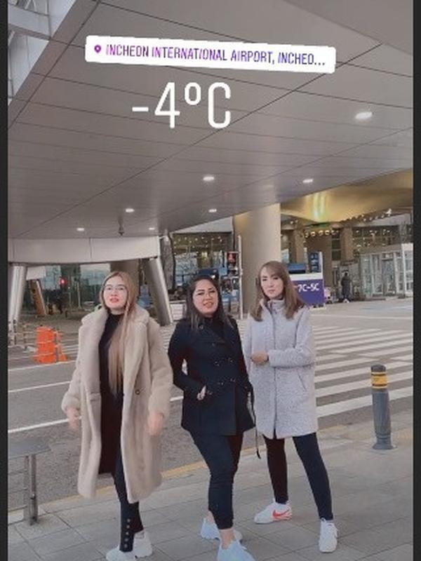 Nella Kharisma liburan ke Korea (Sumber: Instagram/nellakharisma)