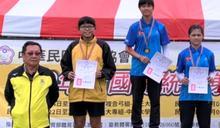 花蓮自強國中林若涵 總統盃射下銀牌