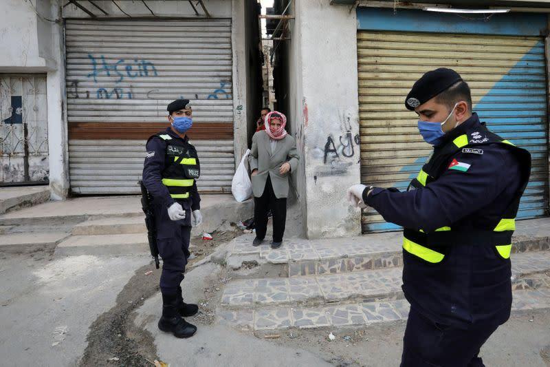 Jordan eases coronavirus curfew and reopens more businesses