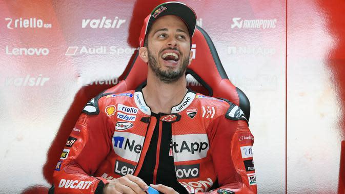 Andrea Dovizioso (Ducati). (AFP/Lluis Gene)
