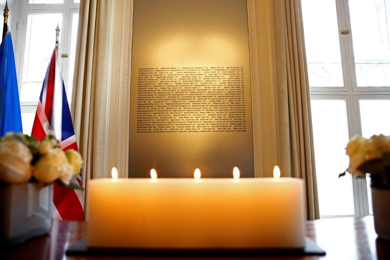 Meeting of the International Coordination and Response Group for the families of the victims of the Ukraine International flight which crashed in Iran, in London