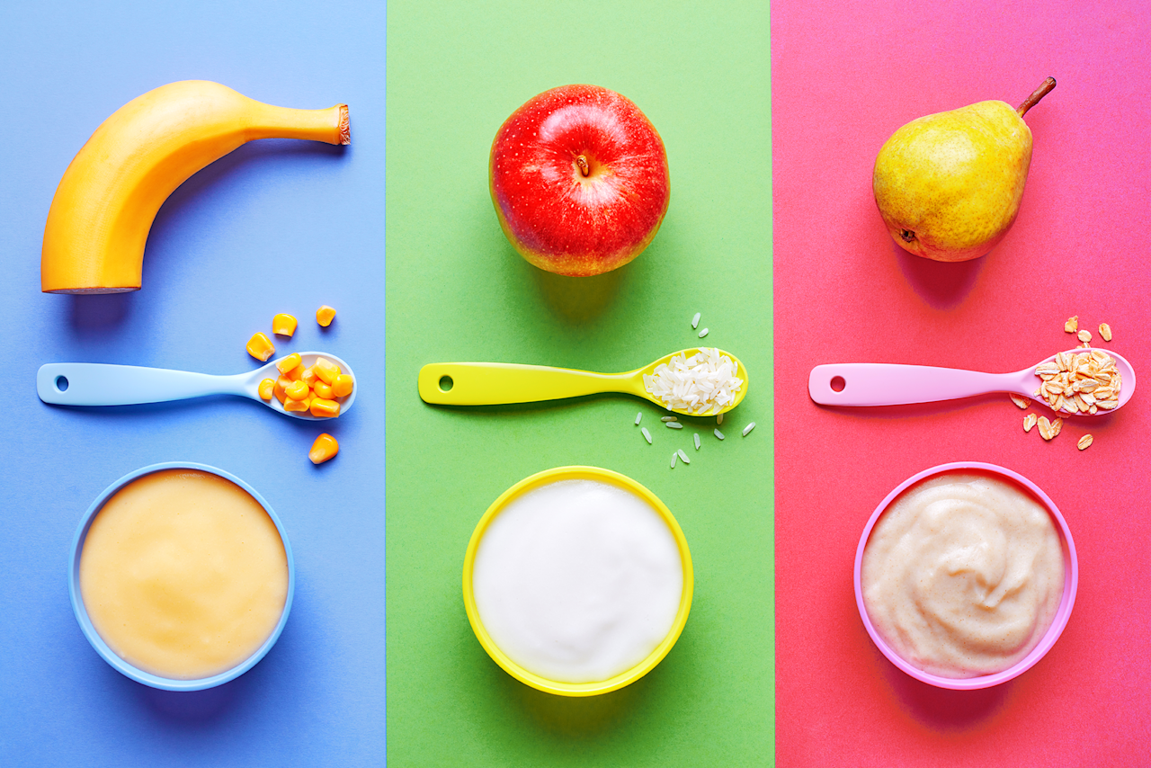 """<p>As a busy parent, time isn't always on your side. Making baby food from scratch can be stressful and time consuming, especially when it comes to appeasing picky eaters. Luckily, there are these organic baby foods brands that you can feel good about feeding your child. </p><p>Since the National Organic Program of the USDA has developed <a href=""""https://www.ams.usda.gov/rules-regulations/organic"""" target=""""_blank"""">strict rules and regulations</a> that govern USDA certified organic foods, those carrying the USDA organic seal cannot contain GMOs or any artificial preservatives, colors, or flavors. And <a href=""""https://www.ncbi.nlm.nih.gov/pubmed/24968103"""" target=""""_blank"""">certain studies</a> show that organic fruits and vegetables have significantly more antioxidant polyphenols than conventionally grown produce. Encouraging an abundance of fruits and vegetables at all ages is key, but organically grown produce can provide some additional benefits without the GMOs or preservatives.</p><p>And speaking of ages, baby food stages aren't standardized but there are general guidelines that many brands utilize. Keep in mind that every baby develops differently, and some babies are ready for stage 2 before they are 7 months old, while others may not be ready until they are 10 months old. Talk to your pediatrician to help guide you throughout the process, and remember that it's important for babies to advance through the stages on their own time. Stage 1 foods generally consist of a single ingredient purees and are ideal for babies ages 4-6 months. Stage 2 foods are for babies ages 6-9 months and start to incorporate more than one ingredient. Stage 3 foods are for babies 9-12 months, and they feature a lot of different textures and new flavors. Stage 4 foods are for babies at least one year of age and typically indicate that table food can be introduced.</p><p>To make sure you're giving your child the very best, we put several brands to the test through a panel of babies, moms, an"""