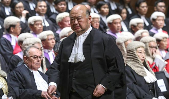 Chief Justice of the Court of Final Appeal Geoffrey Ma has repeatedly issued assurances that the judiciary has remained independent on his watch. Photo: Sam Tsang