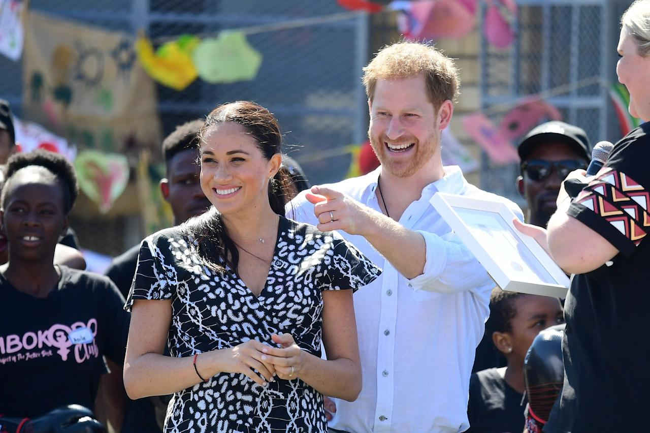 <p>The famous couple's courtship began in secret, but since announcing their engagement, there have been more than a few sweet moments captured on-camera.</p>