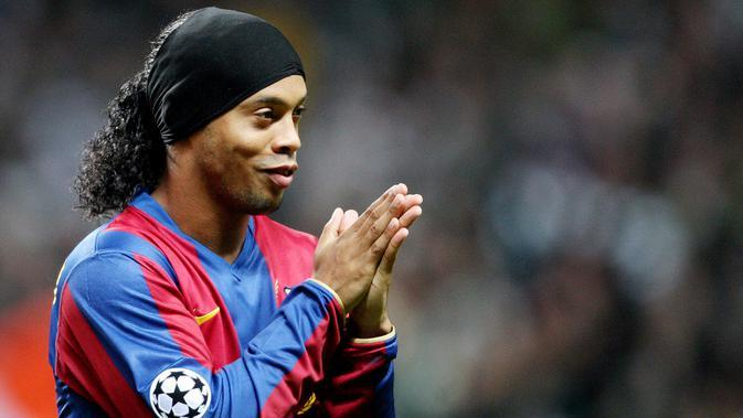 Ronaldinho. (AFP/Andrew Yates)