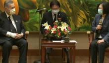 蔡總統接見森喜朗   力挺東京奧運明年舉行