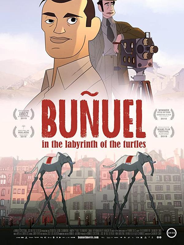Poster Bunuel In The Labirynth of The Turtles. (Foto: Dok. Sygnatia/ The Glow/ IMDb)