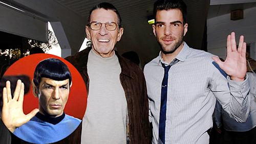 'Star Trek' Secrets Revealed! The Story Behind Spock's Vulcan Salute