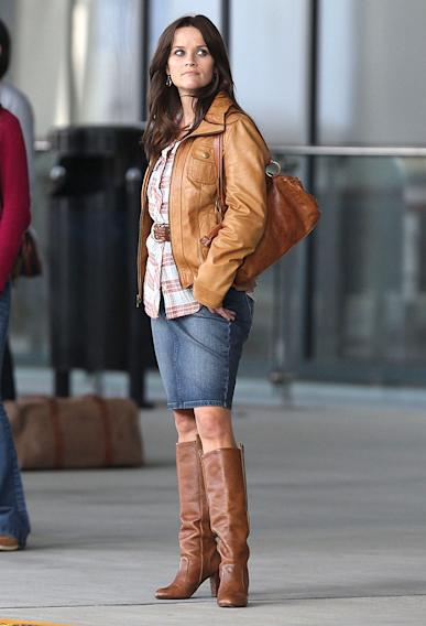 Exclusive... Reese Witherspoon Filming 'The Good Lie' In Atlanta