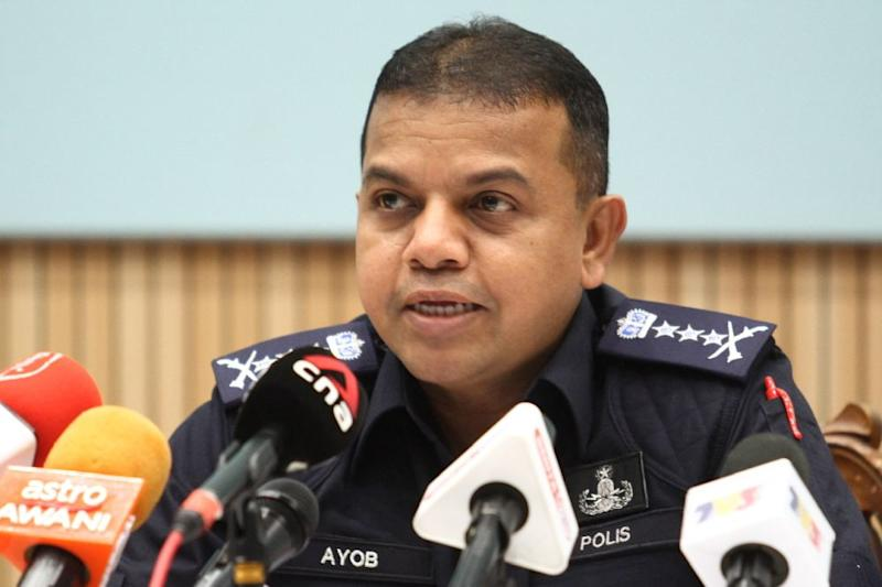 Johor police chief Datuk Ayob Khan Mydin Pitchay is optimistic that rogue officers will be taken to court soon. — Picture by Ben Tan