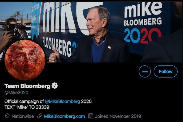 @Mike2020 campaign Twitter account