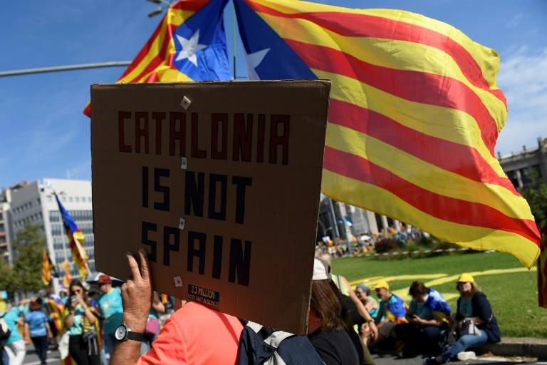 The rally comes at a critical point for Catalan separatists, who remain bitterly divided two years after a failed bid to declare independence from Spain