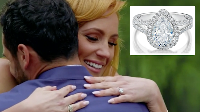 The engagement ring MAFS' Cam gave Jules