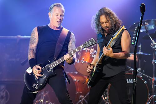 Golden Gods Awards Honor Metallica