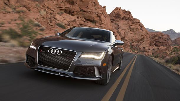 Driving the Audi RS7, the new bahnstormer: Motoramic TV