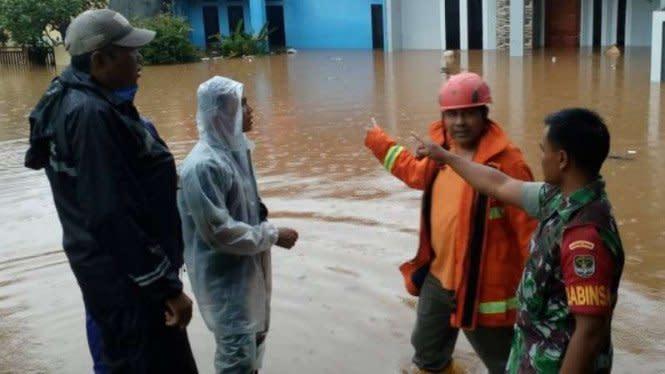 Waspadai Klaster Banjir, Depok Kerahkan Satgas Gorong-gorong