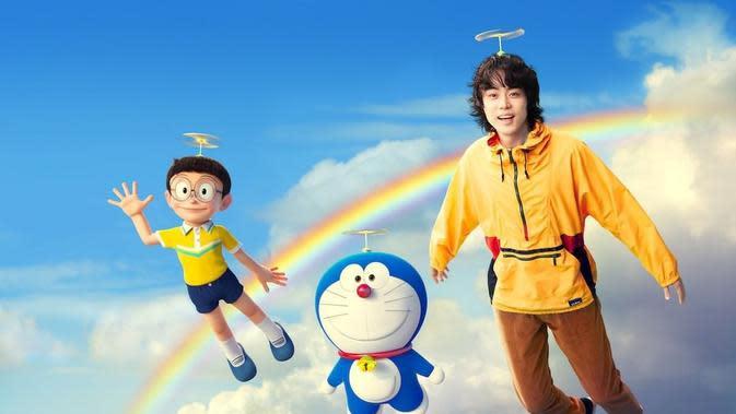 Masaki Suda, pengisi lagu tema Stand by Me Doraemon 2. (dora-world/ Instagram/ dorachan_official)