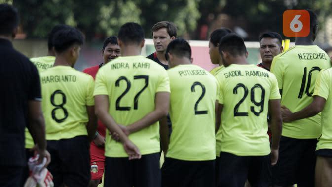 Negatif Covid-19, Pemain Bhayangkara FC Tetap Diminta Jaga Kondisi di Rumah