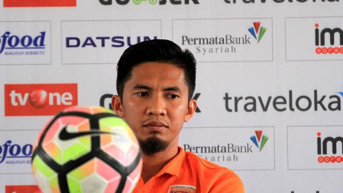 Asisten pelatih Borneo FC, Ahmad Amiruddin (Kukuh Saokani)
