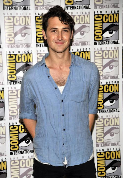 """Ben Lloyd-Hughes attends the """"Divergent"""" press line on Day 2 of Comic-Con International on Thursday, July 18, 2013 in San Diego, Calif. (Photo by Chris Pizzello/Invision/AP)"""
