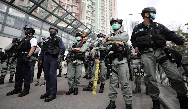 Hong Kong police officers received HK$2.06 billion in overtime pay during the unrest. Photo: Dickson Lee