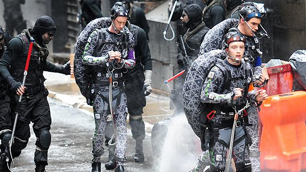 'TMNT': Set Photos Reveal Pre-CGI Heroes in a Half-Shell