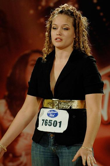 Miami Audition: Suzanne Toon, 21, Clearwater, FL, performs in front of the judges on the 7th season of American Idol.